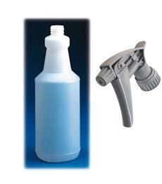 Atomiza Handi Bottle and Chemical Resistant Trigger Head