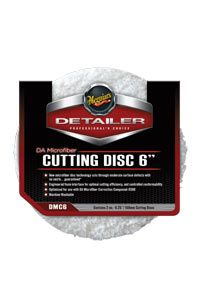 "Meguiars 6"" DA Microfibre Cutting Pad Pack of 2"