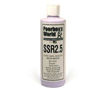 Poorboys Super Swirl Remover Polish SSR2.5