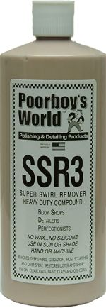 Poorboys Super Swirl Remover Polish SSR3