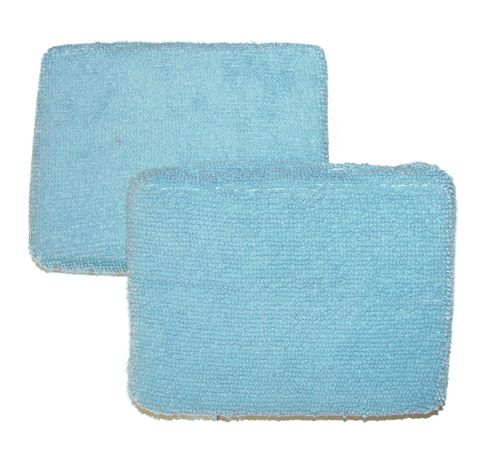 Blue Perl Microfibre Applicator Pads Pack of 2