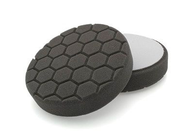 "Flexipads Hex Groove Logic 5.5"" 135mm Pro-Detail Black Finishing Pad"