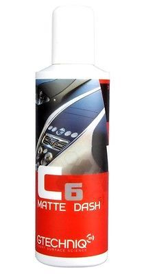 GTechniq C6 Matte Dash Protectant Dashboard Interior Detailing Car Wipe 100ml