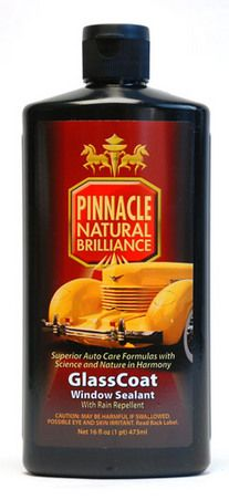 Pinnacle GlassCoat Window Sealant with Rain Repellent